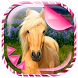 Cute Horses Live Wallpaper by Trendy Fluffy Apps and Games