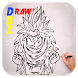 How to Draw DBZ Characters by bestguideever