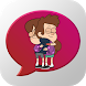 Hug Emoticons by Leprechaun Apps