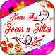 Art Name Focus Filter by styles