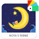 Good Night Xperia Theme by Nota Dao