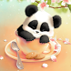 Sleepy Panda Wallpaper by Winterlight