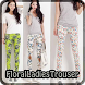 Floral Ladies Trouser by Roberto Baldwin