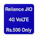 Register JioPhone Rs.1500 / Rs.500