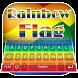 Rainbow Flag Theme&Emoji Keyboard by Best Keyboard Theme Design