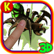Mutant Spiders Smasher : crush all bugs by AkraSoft