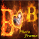 Fire Alphabet Name Photo Frames by Handsome Partner