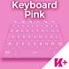 Keyboard Pink by BestKeyboardThemes
