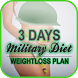 3 days Military Diet plan by cylonblast