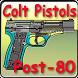 Post-1980 Colt pistols by Gerard Henrotin - HLebooks.com