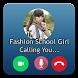 Video Call Prank Fashion School Girl