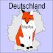 Bundesländer lernen: MapApp by Nissis