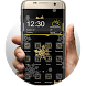 Gold & Silver Snowflakes THEME by Themes for phone