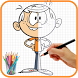 How To Draw The Loud House by How to draw apps