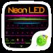 Neon LED GO Keyboard Theme by GO Keyboard Dev Team