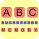 ABC Buchstaben Memory by Achim Pauly