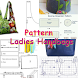 Pattern Ladies Handbags by Kamilafarzana