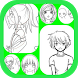 Learn To Draw Anime by Siyem Apps