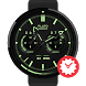 Neondive watchface by Pluto by WatchMaster