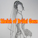 Sketch of Bridal Gown by BabidiArt