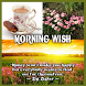 Good Morning Wishes by Ursula's Corner
