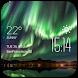 Aurora Weather & Clock Widget by Widget Studio