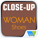 Close-Up Woman Shoes by Magzter Inc.