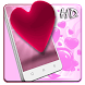 Pink Love Heart Live Wallpaper by Live Wallpaper Background