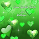 Green Sparkle Hearts Live by HiTechPilot