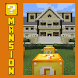 Lucky Block Mansion Map for MCPE by Sodolbaid