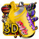 3D Street Graffiti Color launcher theme by Hello Keyboard Theme