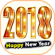New Year 2018 Greeting Cards by Astik Apps