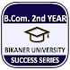 BCom 2nd Year Bikaner University