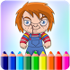 Killer Chucky Coloring Game by AdamStudios