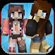 Girl Skins for Minecraft by bessonom