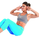 Exercises For a Flat Stomach by Abi Apps