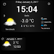 Weather & Clock Widget by Vladimír Bučko