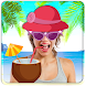 Funny Beach Photo Stickers