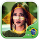Brazil Flag Photo Editor by SouthAmericanFlags