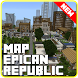 Map city Epican Republic mcpe by SimpleDrawingStudio