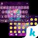 Galaxy Cat Emoji Kika Keyboard by Best Theme Design Apps