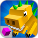 Craft Dino City Rampage 3D by World of Cubes