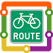 Vancouver Cycling Route by Transopolis