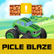 pickle crash adventure by shimmer and shine blaze and monster machine games