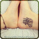 Women's Foot Tattoo Design by Atsushila