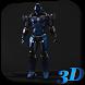 Robot 3D Live Wallpaper by Hubert Apps