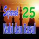 Sejarah 25 Nabi dan Rasul by Matoa Dev