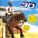 Cowboy Horse Run Simulator 3D by White Sand - 3D Games Studio