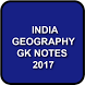INDIA GEOGRAPHY GK NOTES - Previous Papers by UV Technosoft