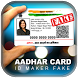 Fake Aadhaar Card ID Maker Prank by Unique Prank Apps